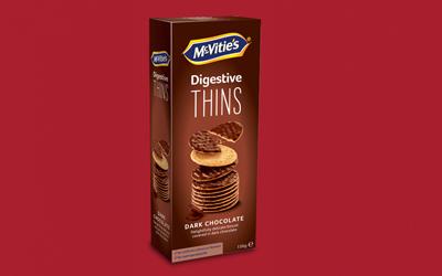 Digestive Thins Dark Chocolate