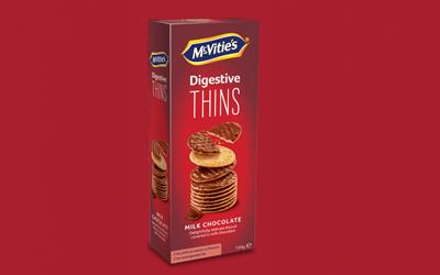 Digestive Thins Milk Chocolate