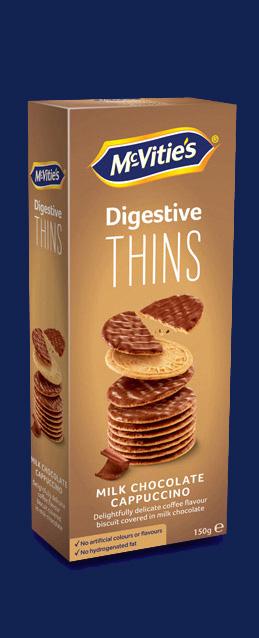 Digestive Thins Cappuccino Milk Chocolate NL