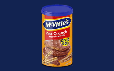 Grab&Go Oat Crunch Milk Chocolate