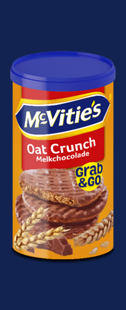 Grab&Go Oat Crunch Milk Chocolate NL