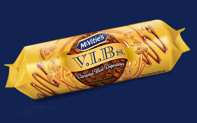 VIB's Caramel Bliss Digestives